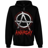 Балахон мужской с молнией Anarchy