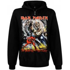 Балахон мужской с молнией Iron Maiden