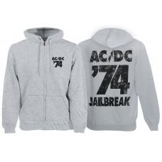 Балахон мужской с молнией AC-DC