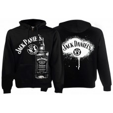 Балахон мужской с молнией Jack Daniels