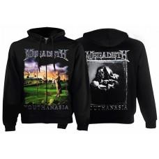 Балахон мужской с молнией Megadeth