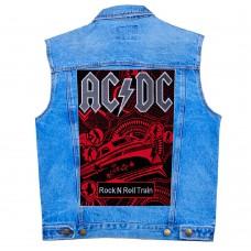 Нашивка наспинная AC-DC