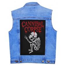 Нашивка наспинная Cannibal Corpse
