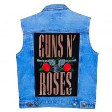 Нашивка наспинная Guns N Roses
