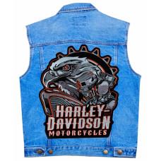 Нашивка наспинная Harley Davidson