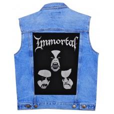 Нашивка наспинная Immortal