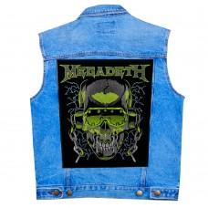 Нашивка наспинная Megadeth
