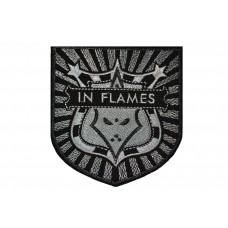 Нашивка вышитая In Flames