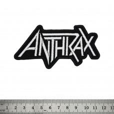 Нашивка вышитая Anthrax