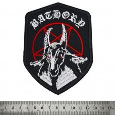 Нашивка вышитая Bathory