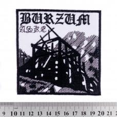 Нашивка вышитая Burzum
