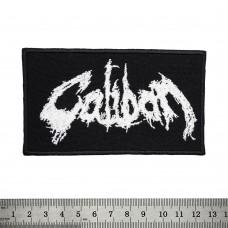 Нашивка вышитая Caliban