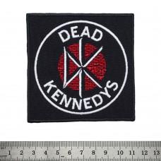 Нашивка вышитая Dead Kennedys