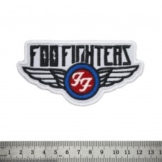 Нашивка вышитая Foo Fighters