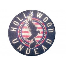 Нашивка вышитая Hollywood Undead