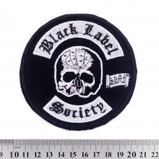 Нашивка вышитая Black Label Society