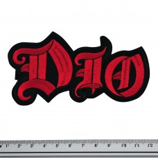 Нашивка вышитая Dio