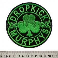 Нашивка вышитая Dropkick Murphys