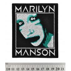 Нашивка вышитая Marilyn Manson