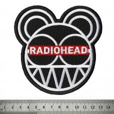 Нашивка вышитая Radiohead