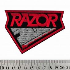 Нашивка вышитая Razor