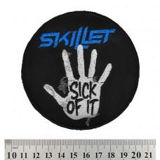 Нашивка вышитая Skillet
