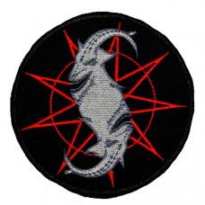 Нашивка вышитая Slipknot