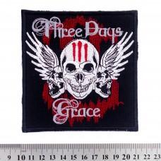 Нашивка вышитая Three Days Grace