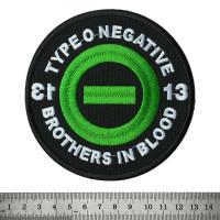 Нашивка вышитая Type O Negative