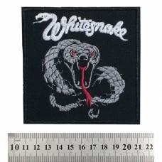 Нашивка вышитая Whitesnake