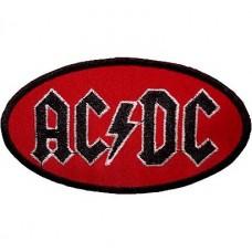 Нашивка вышитая AC-DC