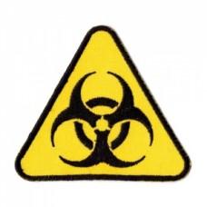Нашивка вышитая Biohazard