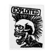 Нашивка вышитая Exploited