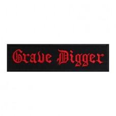 Нашивка вышитая Grave Digger