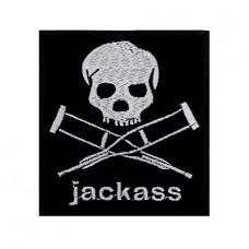 Нашивка вышитая Jackass