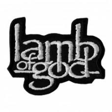 Нашивка вышитая Lamb Of God