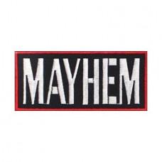 Нашивка вышитая Mayhem