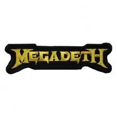 Нашивка вышитая Megadeth