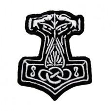 Нашивка вышитая Молот Тора