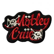 Нашивка вышитая Motley Crue