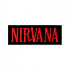 Нашивка вышитая Nirvana
