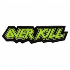Нашивка вышитая Overkill