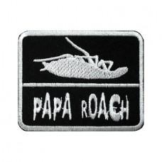 Нашивка вышитая Papa Roach