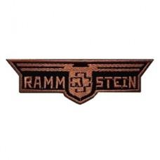 Нашивка вышитая Rammstein
