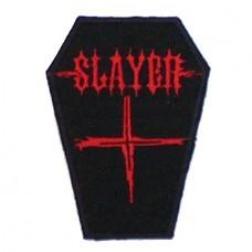 Нашивка вышитая Slayer
