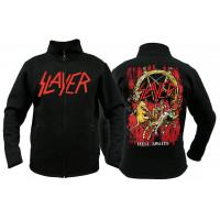 Свитер мужской с молнией Slayer