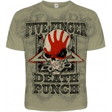 Футболка тотальная Five Finger Death Punch