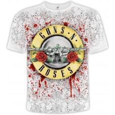 Футболка тотальная Guns'N'Roses