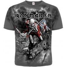 Футболка тотальная Iron Maiden