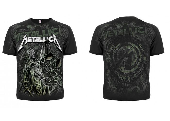 Футболка тотальная Metallica